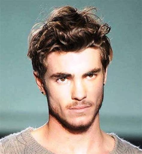 hairstyles for boys with thick wavy hair coolest male hairstyle ideas for thick wavy hair 2016
