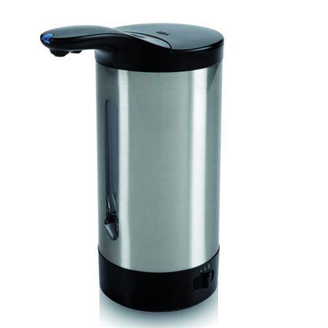 distributeur de savon automatique oxo en acier inox