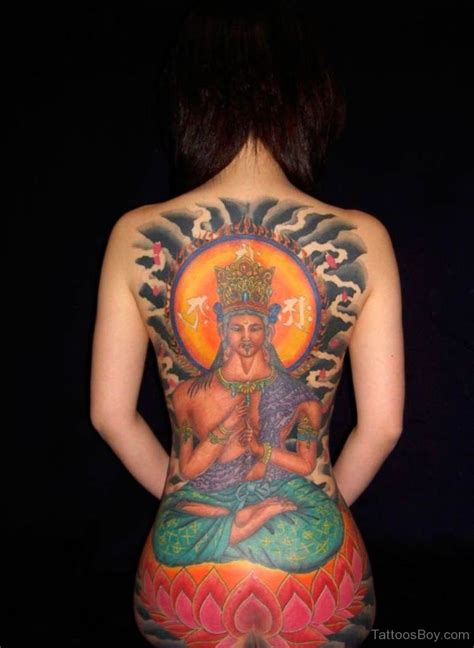 religious back tattoos religious tattoos designs pictures page 70
