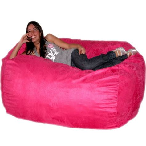 big pink bean bag chairs funky pink chairs various unique design styles