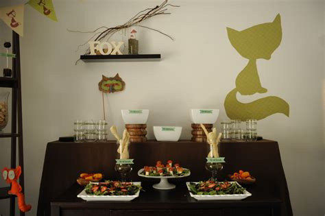 Fox Baby Shower by Sly Fox Baby Shower Kara S Ideas The Place For All Things