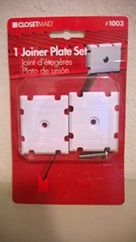 closetmaid joiner plate 1003 buy special kitchen housewares closetmaid shelf joiner