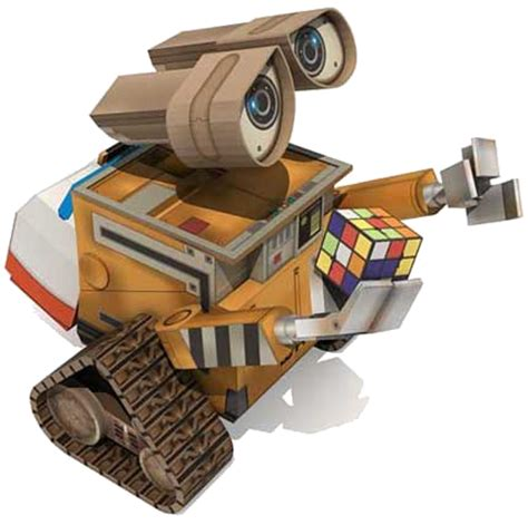 Wall E Papercraft - one sick psi ウォーリ ーペパクラ wall e pepakura