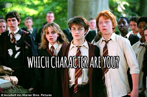 best harry potter characters list of favorite characters which popular harry potter character are you like