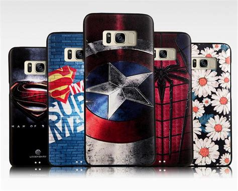 for samsung galaxy s8 plus high quality 3d superman soft tpu back cover for