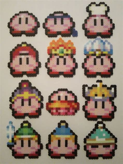 kirby pattern lab 16 best craft perler kirby images on pinterest fuse