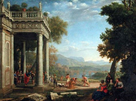Home Design Italy Style by Claude Lorrain At The Beginning Of A Modern Romantic