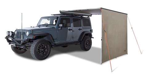 jeep wrangler awning awning extension 31101 rhino rack
