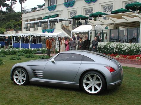 Chrysler Crossfire Horsepower by 2001 Chrysler Crossfire Concept Conceptcarz