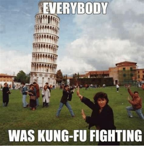 Kung Fu Meme - funny everybody was kung fu fighting memes of 2017 on sizzle