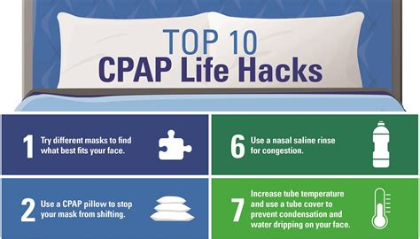 best hacks top 10 cpap hacks