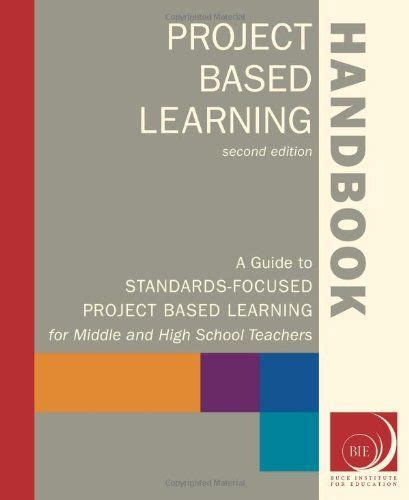 project design criteria handbook project based learning handbook a guide to standards