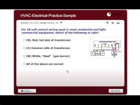 electrical practice nate hvac certification