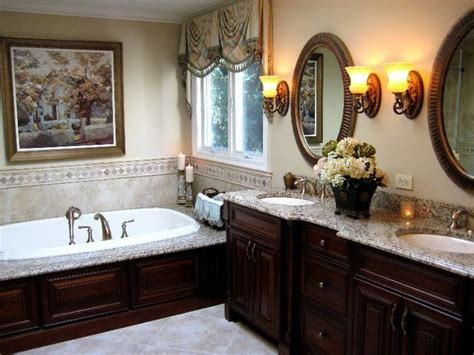 Decorating Ideas For Master Bathrooms Cherry Mirrors Bathroom Bathroom Designs For Small Spaces Traditional Master Bathroom Designs