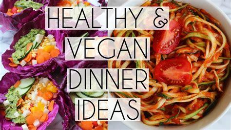 healthy vegan dinner recipes in college