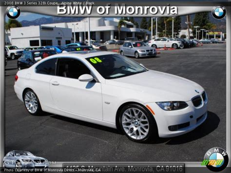 Bmw 328i 2008 Specs by 2008 Bmw 3 Series 328i Coupe In Alpine White Photo No