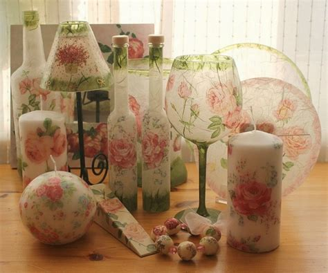 Can You Decoupage Glass - 55 ideas of decoupage on the glass and walkthrough part 2