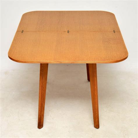 dining table vintage 1950 s vintage oak dining table side table
