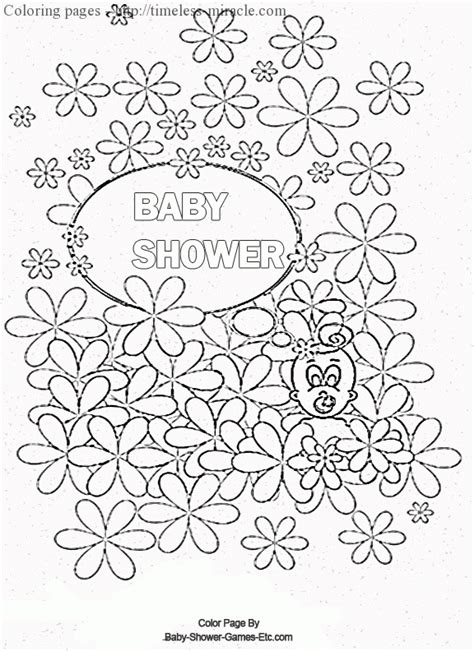 free coloring pages of shower