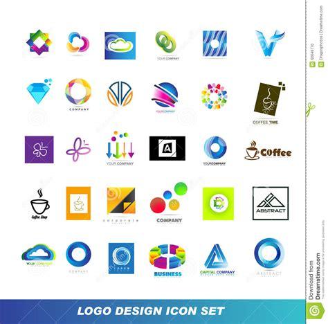 design elements icon logo design elements icon set stock vector image 60046770