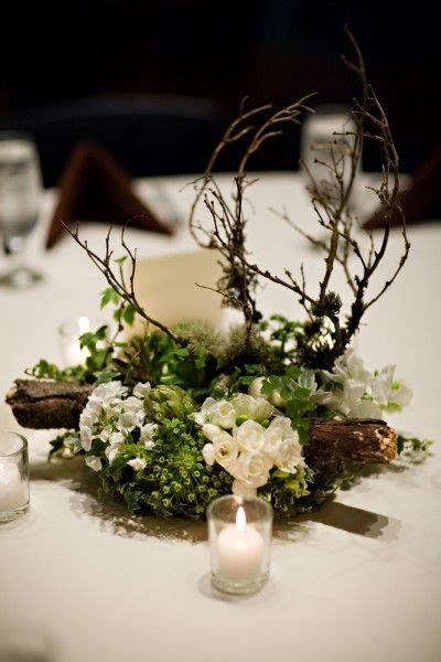 woodland centerpieces by francoise weeks wedding center