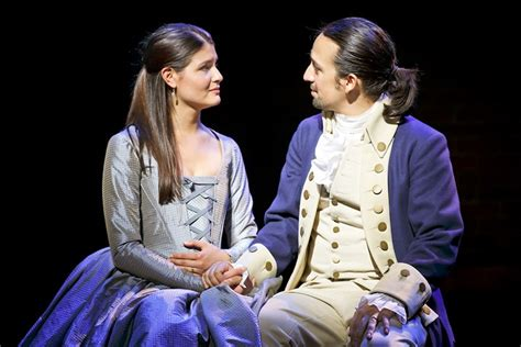 i eliza hamilton broadway review brilliant hamilton puts history firmly