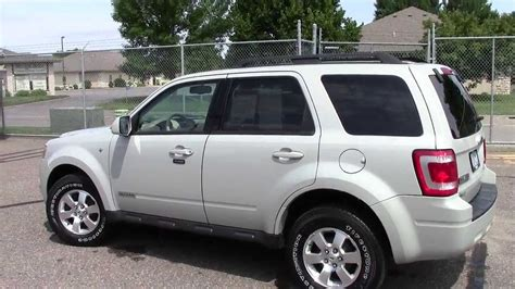 all car manuals free 2008 ford escape electronic toll collection 2008 ford escape 4wd limited youtube