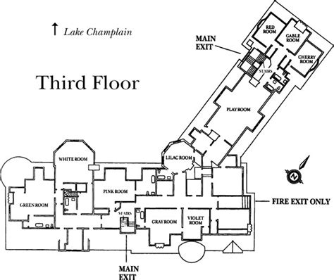 inn floor plans inn floor plans shelburne farms