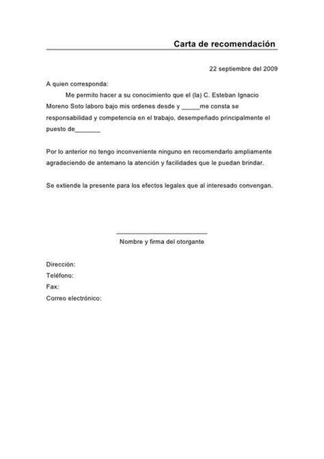 carta de recomendacion personal arrendamiento cartas de recomendaci 243 n c 243 mo hacerlas y modelos cursosmasters