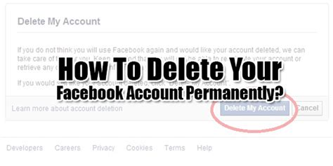 design by humans delete account how to delete facebook profile permanently okay google