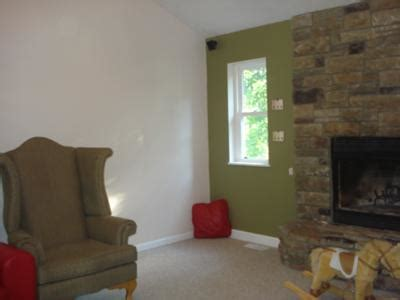 painting accent walls in living room home design