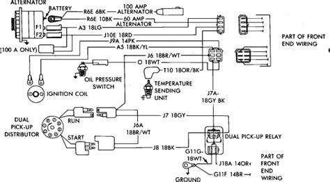 dodge charger ignition problems im trying to rewire the ignition system on a 85 dodge