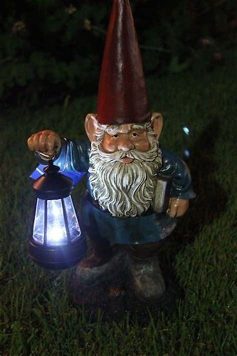 802 Best Gnomes Images On Pinterest Gnome Garden Gnome String Lights