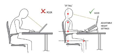 Raise Office Chair Height Ipad Laptop Use Amp Spinal Pain Physiohealth