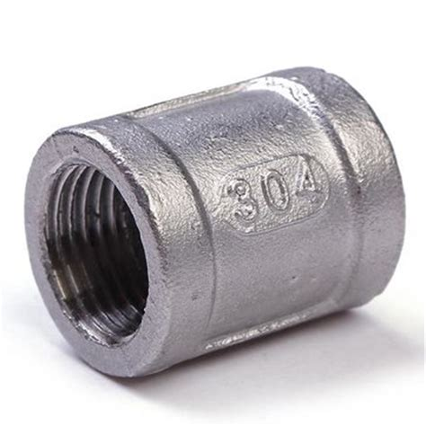 Stainless Steel 304 1 1 2 Inch 1 2 inch 304 stainless steel threaded coupling pipe fitting npt us 1 99 sold out