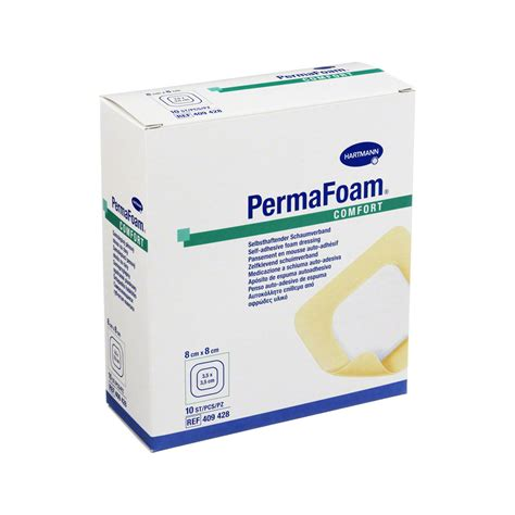 permafoam comfort permafoam comfort schaumverband 8x8 cm 10 st 252 ck online