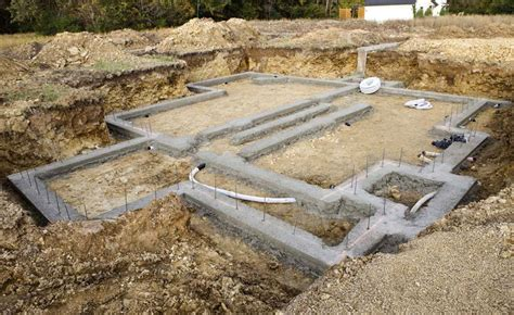 concrete basement construction the choice of type of foundation when building a house