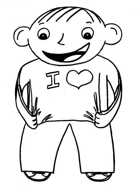 flat stanley free colouring pages