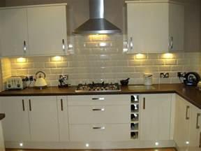 Cream Kitchen Tile Ideas Euro White Gloss Kitchen Customer Examples