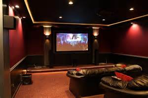 Home Theatre Decor Home Theater Ideas For Simple Application Homestylediary