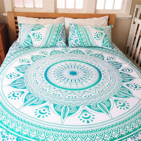 tapestry bedding sets queen size bedspread indian mandala tapestry bedding set