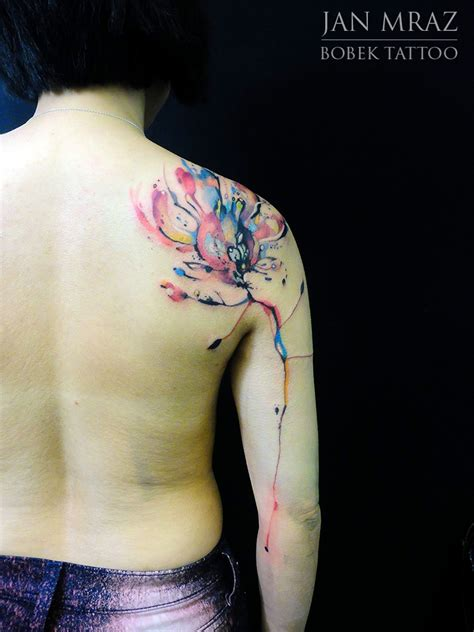 watercolor tattoos fire 36 beautiful watercolor tattoos from the world s finest
