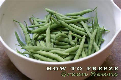 how to blanch green beans for freezing white gold