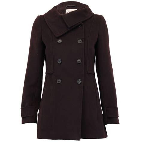 Breasted Wool Jacket wool look coat womens jacket breasted