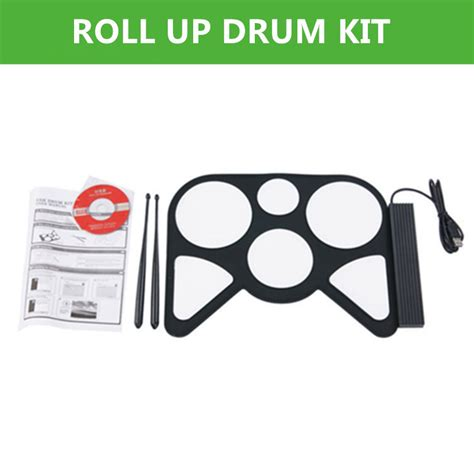 Usb Roll Up Drum Kit 2014 new free shipping portable educational electronic roll up drum kit usb roll up drum kit in