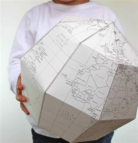 How To Make Paper Globe - 2013 may