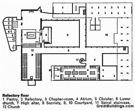floor plan la la tourette monastery someone has built it before page 2