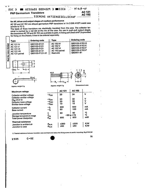 germanium transistor datasheet germanium transistor numbers 28 images pnp transistor number list 28 images fzt789a pnp