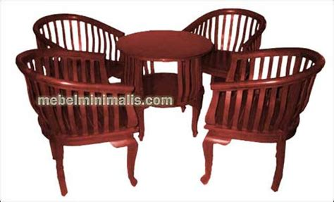 Kursi Betawi Minimalis meja tamu dengan kursi tamu minimalis betawi jati jepara