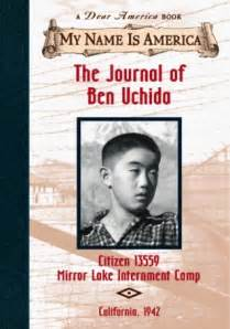 i my name books the journal of ben uchida citizen 13559 mirror lake
